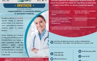 invitatie curs gdpr medical