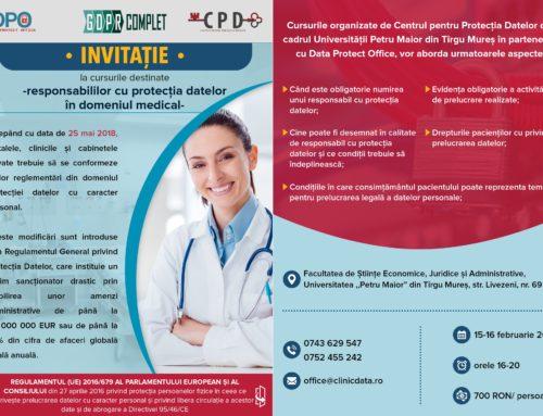Protecţia datelor în domeniul medical şi sectorul sanitar