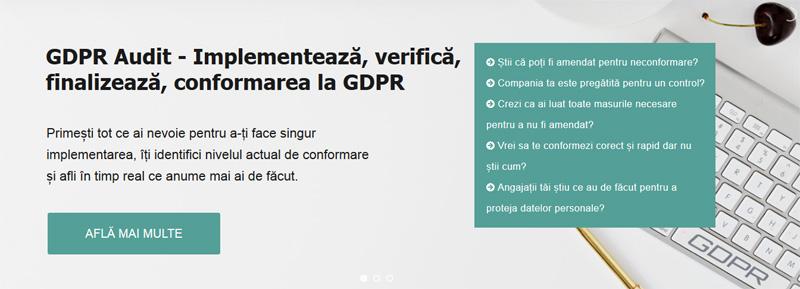 GDPR Audit - Implementeaza corect GDPR