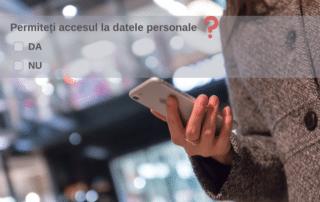 Permiteti accesul la datele personale?